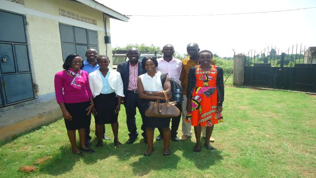 Hear International (HI) staff with IDI staff after a Risk Assessment Exercise at HI Head Office, Arua District.